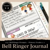 Bell Ringer Journal for the Entire School Year: Primary Gr