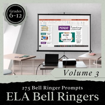 Bell Ringer Journal for the Entire School Year: Volume 3 PRESENTATION FORM