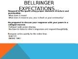 Bell Ringer PowerPoint