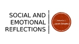 Bell Ringer: Social and Emotional Learning Reflection Prompts  Vol. 1