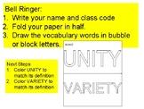 Bell Ringer UNITY VARIETY