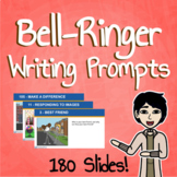 Bell-Ringer Writing Prompts