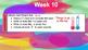 Bell Ringer - daily details Week 10 - 18