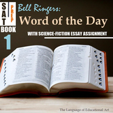 Bell Ringers: SAT Word of the Day (Book 1: w/ Sci-Fi Narrative Assignment)