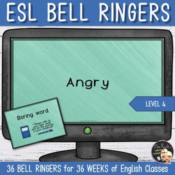 Bell Ringers Boring Words