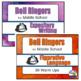 Bell Ringers for Middle School Bundle - Full Year - Common Core ELA