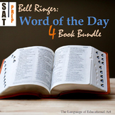 Bell Ringers: SAT Word of the Day Bundle (Presentations, Journal, and Essays)
