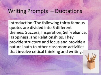Bell Ringers - Common Core - Expository Writing Prompts
