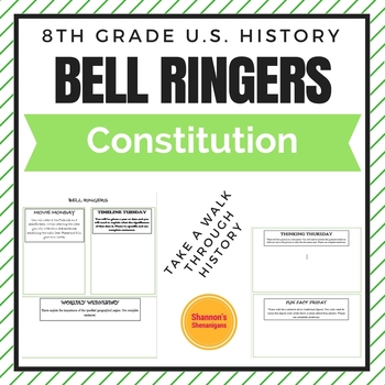 Bell Ringers- Constitution