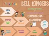 Bell Ringers: ELA Standards for Literary & Informational Text [157 Activities]