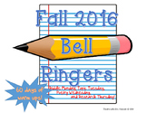 Bell Ringers Fall 2016