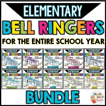 Bell Ringers Math, Writing and more - Bundle