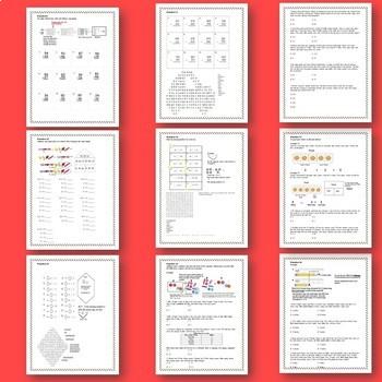 3rd Grade TEKS, STAAR-aligned Bell Ringers, Homework/Classwork/Math Stations