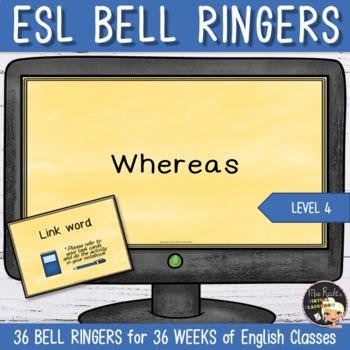 English Bell Ringers ESL Level 4 Link Words