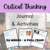 Bell Ringers & Journal DIGITAL & PAPER: Middle & HS