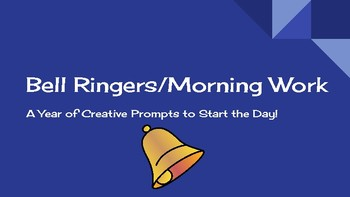 Bell Ringers/Morning Work Presentation