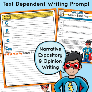 30 September Passages & Daily Writing Prompts- Text Evidence- Morning Work