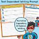 September 4-6th Grade Rigorous Morning Work -  Evidence-ba