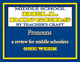 Middle School ELA Bell Ringers - Pronouns