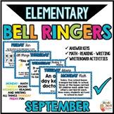Bell Ringers - September
