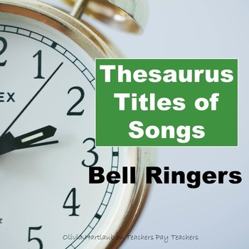 Bell Ringers: Thesaurus Titles of Songs