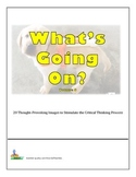 Bell Ringers - What's Going On?  Vol 6  20 Images to Stimulate Critical Thinking