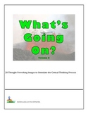 Bell Ringers - What's Going On?  Vol 8  20 Images to Stimulate Critical Thinking