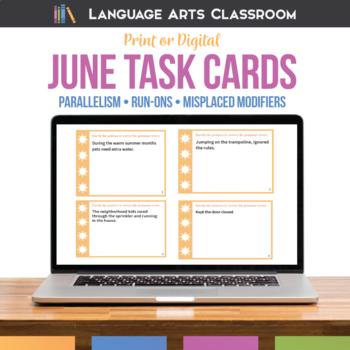 Bell Ringers and Grammar Errors for June