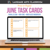 Grammar & Writing Errors: Digital Bell Ringers for June Language Arts Activity