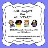 Bell Ringers for ALL YEAR LONG! (ELL, SPED, Elementary)