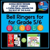 Bell Ringers for Combined Grade 5/6 BUNDLE