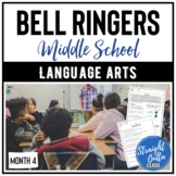 Bell Ringers for Language Arts MONTH 4