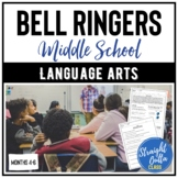Bell Ringers for Language Arts MONTHS 4-6   Google Classro