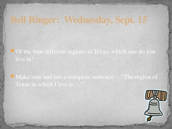 Bell Ringers for Texas History