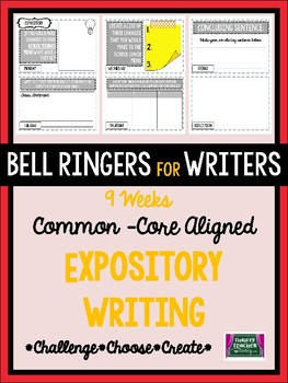 Expository Writing Bell Ringers