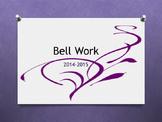 Bell Work 101