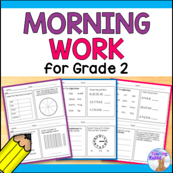 Morning Work for Grade 2