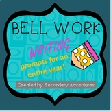 Bell Work for a Year- ELA Bundle!