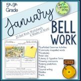 Bell Ringers, Bell Work, Daily Homework {January}