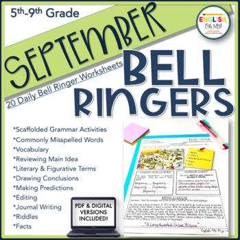 Bell Work {September}