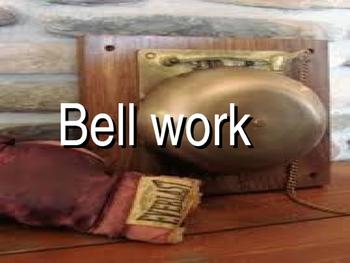 Bell Ringers-Social Studies