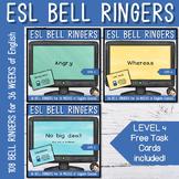 English Bell Ringers - EFL Wordwork Bundle
