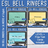 Bell Work Vocabulary - Year Long Bundle