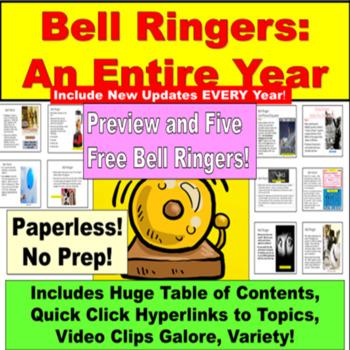 Bell Work: Writing Topics