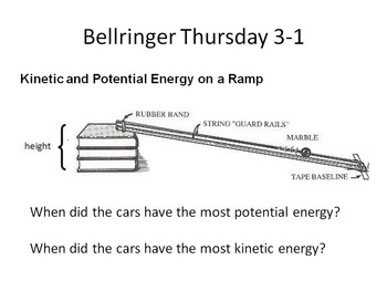 Science Bell Work Review Editable!