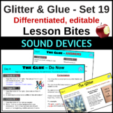 Sound devices for close reading and writing