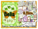 Bella - Butterfly Life Cycle - Center Bag Box Unit - Presc