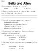 Bella and Allen (Lit) Text & Question Set - FSA/PARCC-Styl