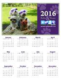 Bella and Rosie 2016 Calendar