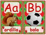 Abc apples in spanish
